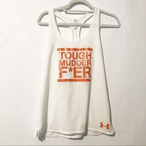 Under Armour Mesh Tough Mudder Tank Size Small